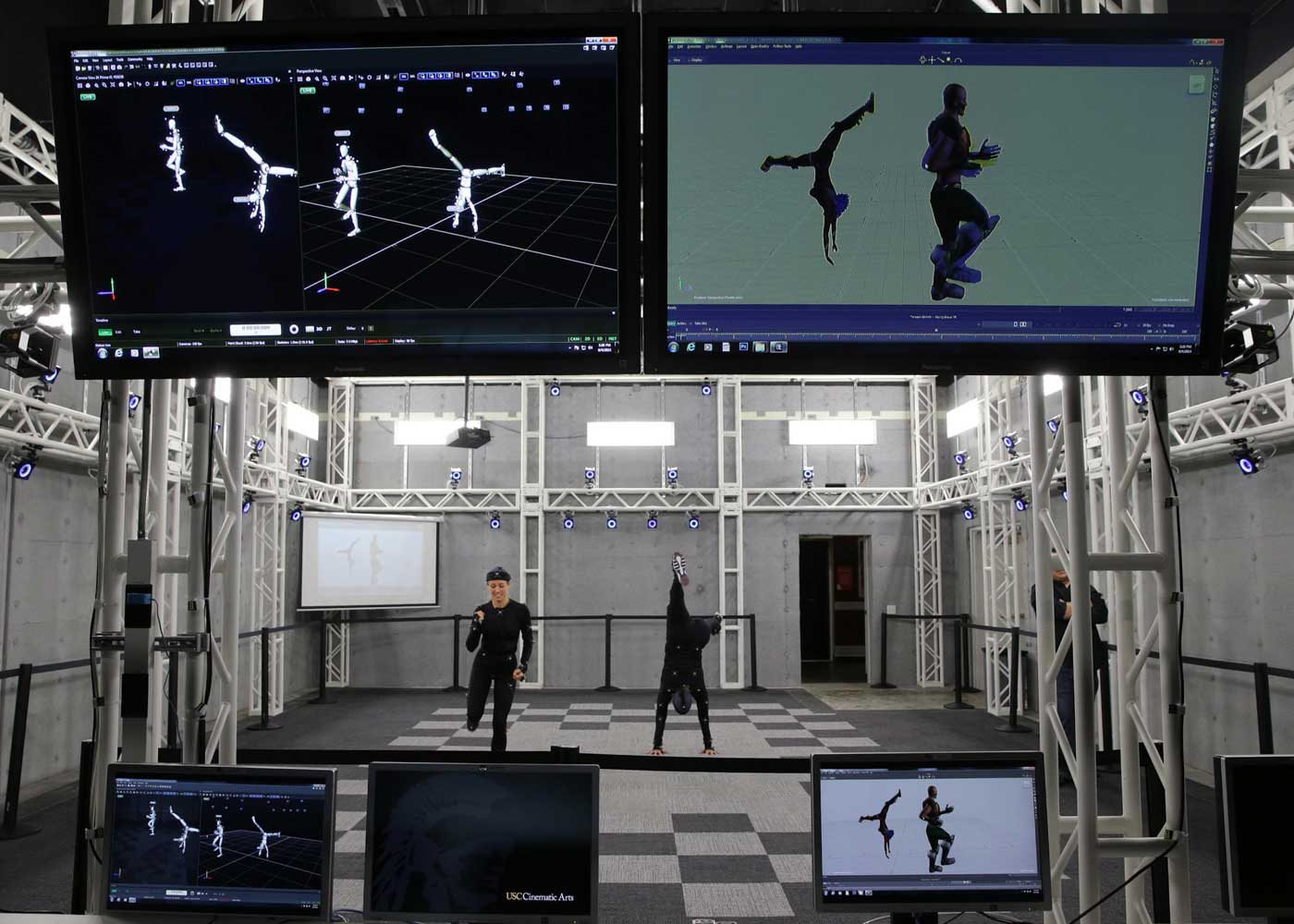 USC School of Cinematic Arts using OptiTrack Motion Capture